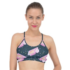 Dunkaroos Funfetti Print Dark Blue 1 Basic Training Sports Bra