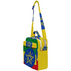 Current Flag Of Ethiopia Crossbody Day Bag