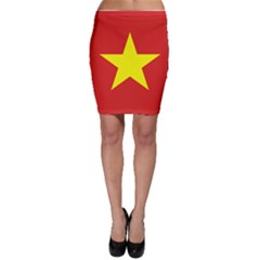 Flag Of Vietnam Bodycon Skirt by abbeyz71