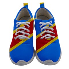 Flag Of The Democratic Republic Of The Congo Women Athletic Shoes