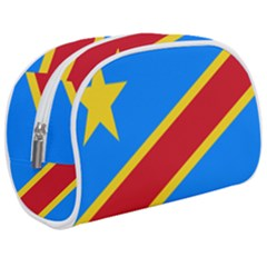 Flag Of The Democratic Republic Of The Congo, 1997-2003 Makeup Case (medium) by abbeyz71