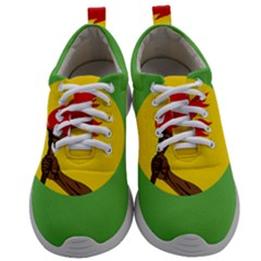 Flag Of Zaire Mens Athletic Shoes by abbeyz71
