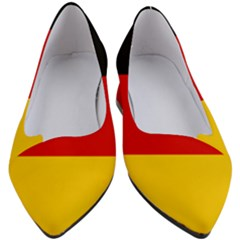 Flag Of Germany Women s Block Heels  by abbeyz71