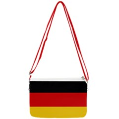 Flag Of Germany Double Gusset Crossbody Bag