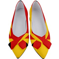 Flag Of Germany Women s Bow Heels