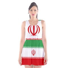 Flag Of Iran Scoop Neck Skater Dress
