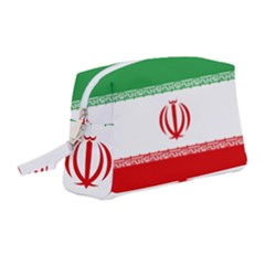 Flag Of Iran Wristlet Pouch Bag (medium)