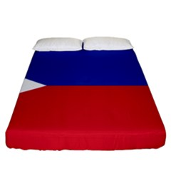 Philippines Flag Filipino Flag Fitted Sheet (king Size) by FlagGallery