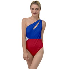 Philippines Flag Filipino Flag To One Side Swimsuit by FlagGallery