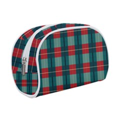 Pattern Texture Plaid Makeup Case (small) by Mariart