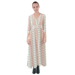 Pattern Line Background Wallpaper Button Up Maxi Dress by Mariart