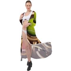 Sport Ball Tennis Golf Football Maxi Chiffon Beach Wrap