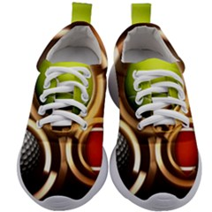 Sport Ball Tennis Golf Football Kids Athletic Shoes by HermanTelo