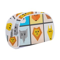 Animals Cute Flat Cute Animals Makeup Case (small)