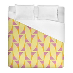 Yellow Pink Duvet Cover (full/ Double Size)