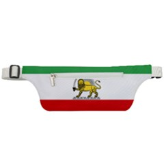 State Flag Of The Imperial State Of Iran, 1907 1979 Active Waist Bag
