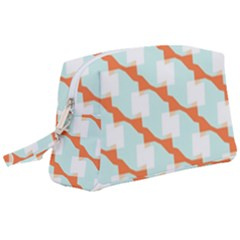 Wallpaper Chevron Wristlet Pouch Bag (large) by HermanTelo