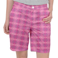 Pink Pocket Shorts