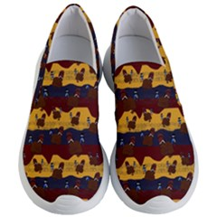 Turkey Pattern Women s Lightweight Slip Ons by bloomingvinedesign