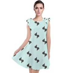 Illustrations Tie Up Tunic Dress