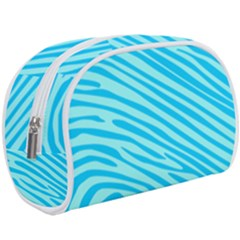 Pattern Texture Blue Makeup Case (large) by HermanTelo