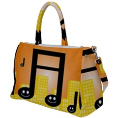 Abstract Anthropomorphic Art Duffel Travel Bag