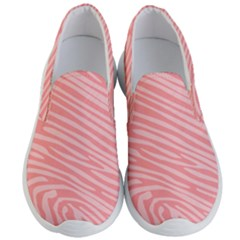 Pattern Texture Pink Men s Lightweight Slip Ons by HermanTelo