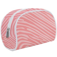 Pattern Texture Pink Makeup Case (large) by HermanTelo