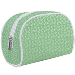 Background Polka Green Makeup Case (large) by HermanTelo