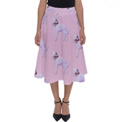 Dogs Pets Anima Animal Cute Perfect Length Midi Skirt