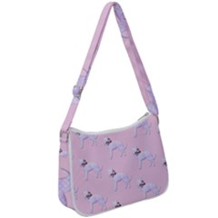 Dogs Pets Anima Animal Cute Zip Up Shoulder Bag
