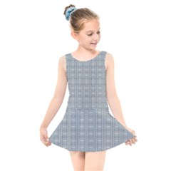 Pattern Shapes Kids  Skater Dress Swimsuit