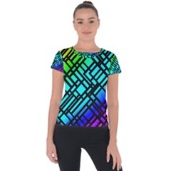 Background Texture Colour Short Sleeve Sports Top