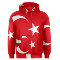 Flag Of Turkey Men s Pullover Hoodie by abbeyz71