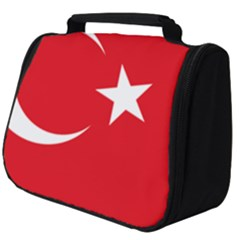 Flag Of Turkey Full Print Travel Pouch (big) by abbeyz71
