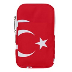 Flag Of Turkey Waist Pouch (small) by abbeyz71
