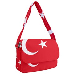 National Cockade Of Turkey Courier Bag by abbeyz71