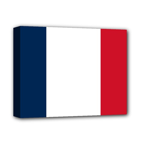 Flag Of France Deluxe Canvas 14  X 11  (stretched) by abbeyz71