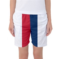 Flag Of France Women s Basketball Shorts by abbeyz71