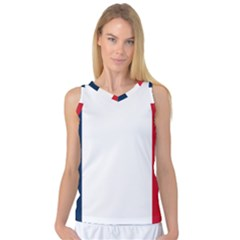 Flag Of France Women s Basketball Tank Top by abbeyz71