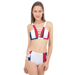 Flag Of France Cage Up Bikini Set by abbeyz71