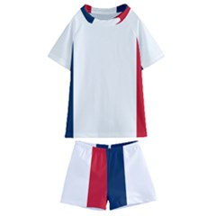 Flag Of France Kids  Swim Tee And Shorts Set by abbeyz71