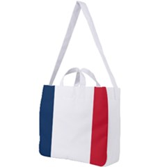 Flag Of France Square Shoulder Tote Bag by abbeyz71