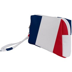 Flag Of France Wristlet Pouch Bag (small) by abbeyz71