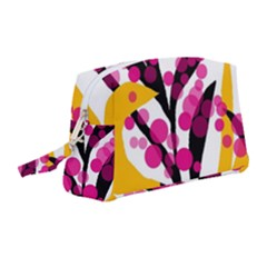Sahara Street Cherry Blossom Wristlet Pouch Bag (medium)
