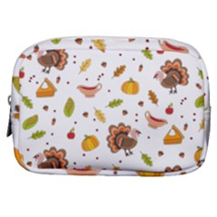 Thanksgiving Turkey Pattern Make Up Pouch (small)