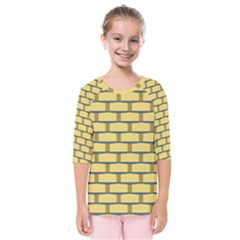 Pattern Wallpaper Kids  Quarter Sleeve Raglan Tee