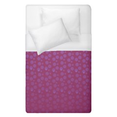 Background Polka Pattern Pink Duvet Cover (single Size)