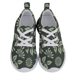 Flowers Pattern Spring Nature Running Shoes by HermanTelo