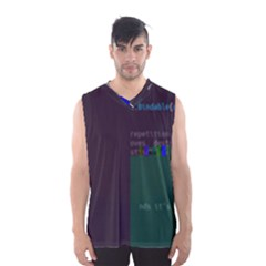 Oakmound Oak s Source-go Glitch Code Boxy Basketball Tank Top by HoldensGlitchCode